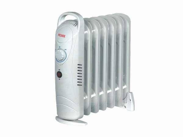масляный радиатор для отопления дачного дома