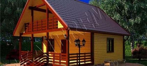 Важные моменты при проектировании дома с террасой
