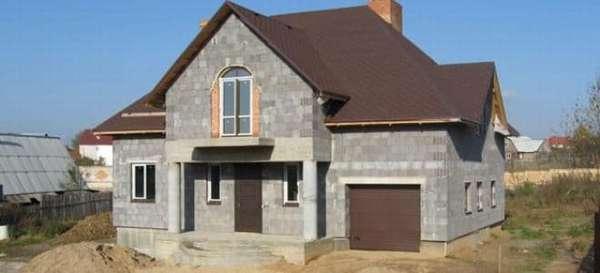 Планировка и технология строительства дома из керамзитобетонных блоков