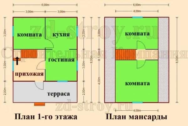 Планировка проекта №1