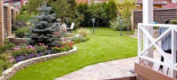 Планировка двора частного дома: оформление и рациональное использование пространства