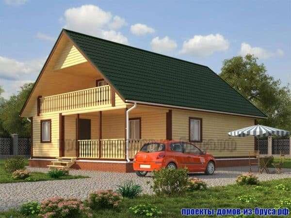 Фасад дома 12 на 12_2