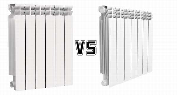 Радиаторы отопления лучше алюминиевые или биметаллические