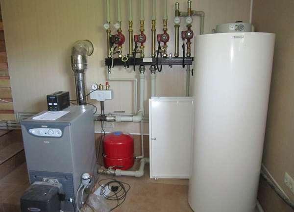 Система отопления комбинированного типа