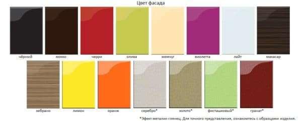 Цвет фасада