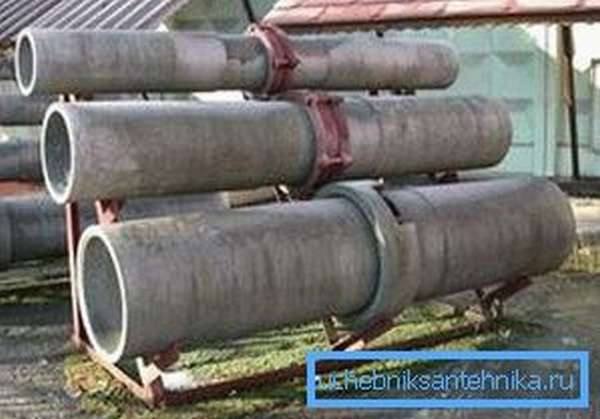 Асбестоцементная труба 500x210 мм (обсадная)