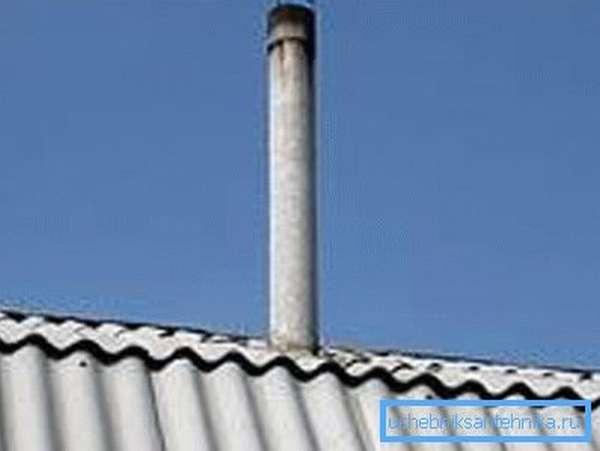 Асбестоцементные трубы для дымохода теряют свою популярность