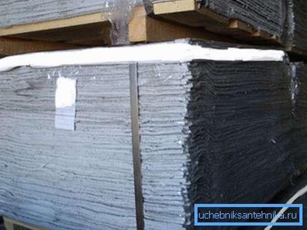 Асбестовый картон - основной материал для герметизации высокотемпературных фланцевых соединений воздуховодов.