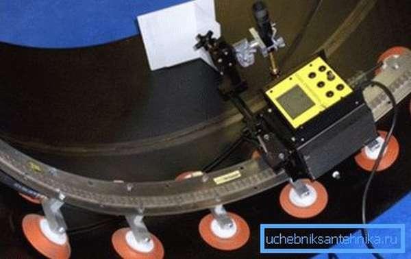 Автоматизированное оборудование для сваривания и резки труб большого диаметра
