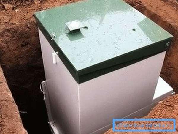 Автономная система канализации без откачки