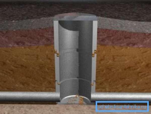 Бетонный колодец универсален и может применяться для самых разных систем.