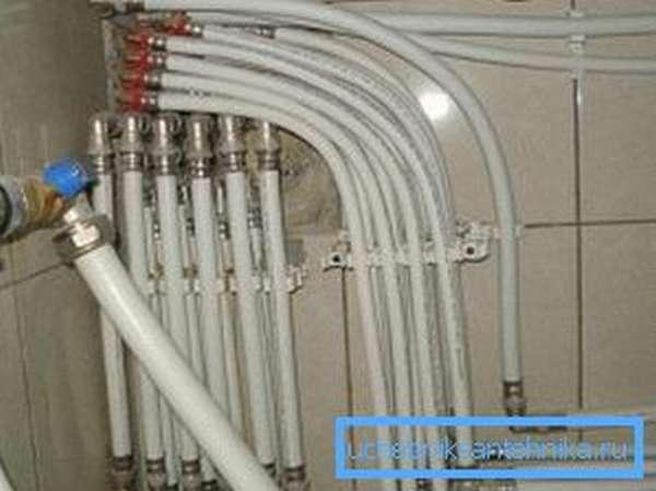 Безаварийная работа водопровода зависит от правильности соединения труб