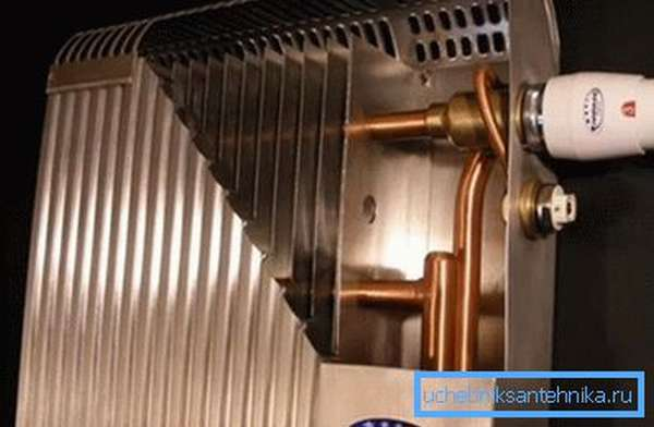 Биметаллическая система отопления