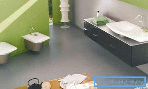 Благодаря описываемым устройствам, в сантехническом помещении можно создать уникальный и неповторимый интерьер