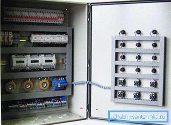 Блок управления вентиляцией с контроллерами