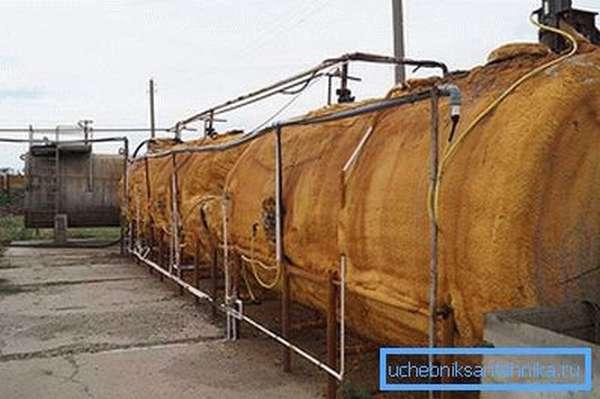 Большая биогазовая установка