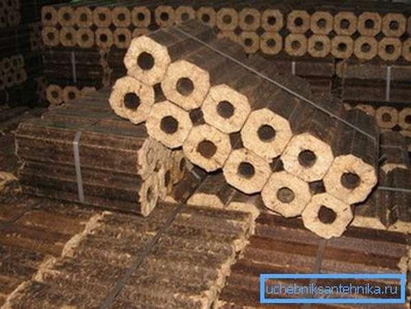 Брикетное биотопливо из отходов древесной промышленности