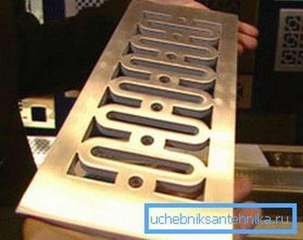 Бронзовые декоративные решетки для вентиляции и кондиционирования