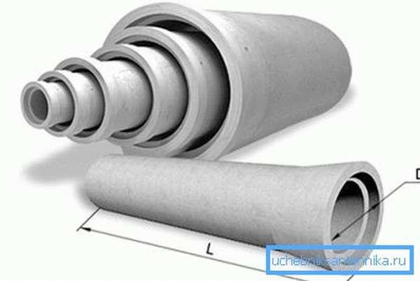 Чем больше диаметры асбестоцементных труб, тем выше их масса. Помните это при проведении проектировочных работ