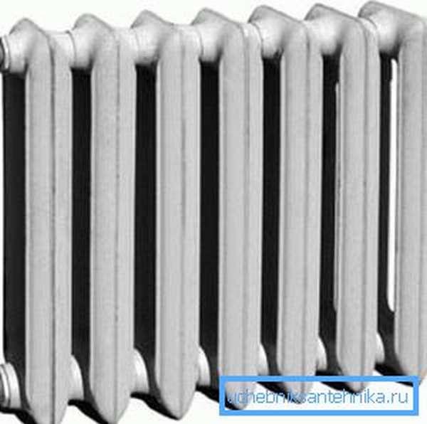 Чугунная батарея – классика среди климатического оборудования