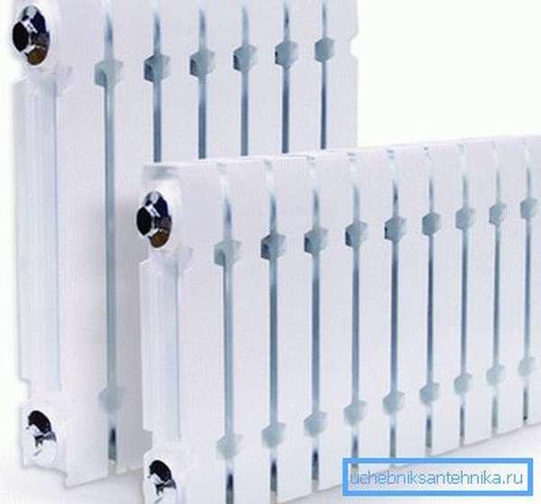 Чугунные радиаторы в стиле модерн