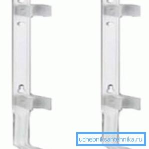 Данная модель предназначена для фиксации на стене трубчатых радиаторов отопления
