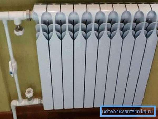 Даже через 5 лет эксплуатации радиатор выглядит отлично