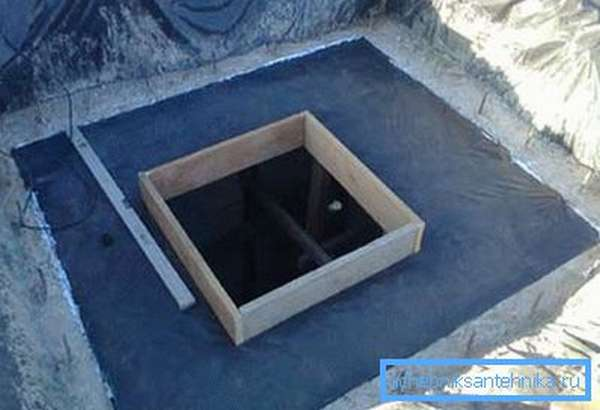 Делаем настил и опалубку для плиты перекрытия.