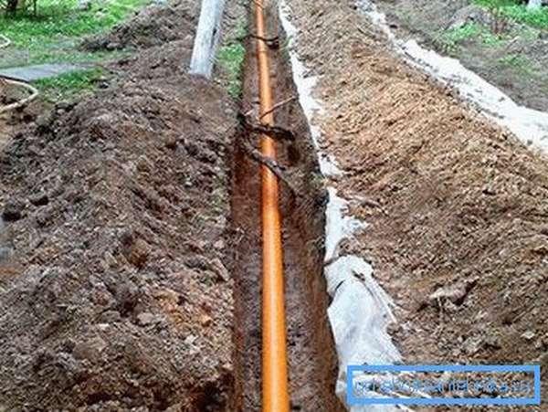Демонтаж внешней канализации достаточно трудоемкий
