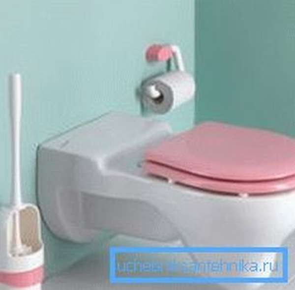 Детский подвесной сантехнический прибор