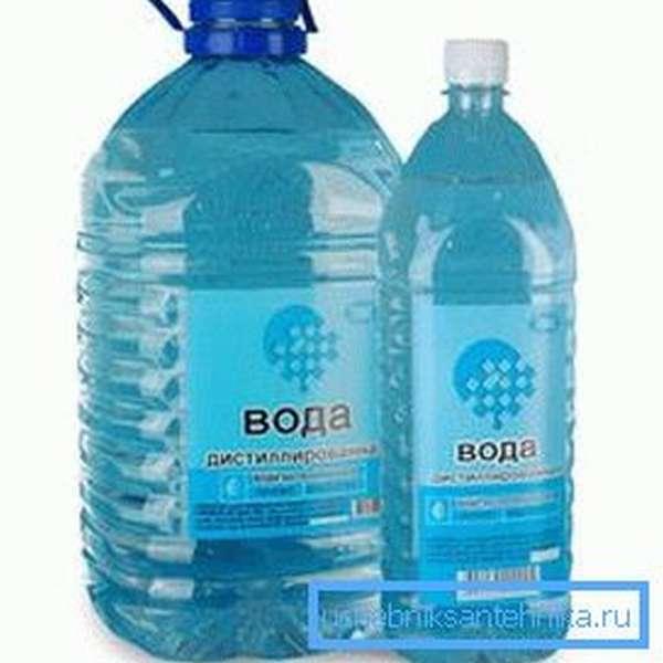 Дистиллированная вода – практически идеальный теплоноситель.