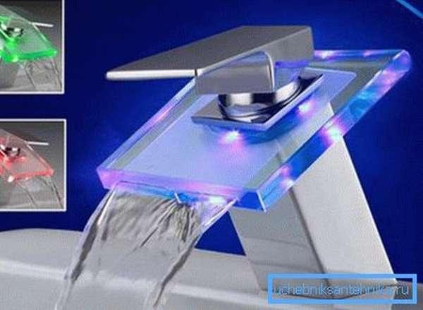 Дизайнерский кран, который специально разработан под конкретный интерьер