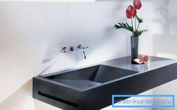 Дизайнерские раковины из камня для ванной