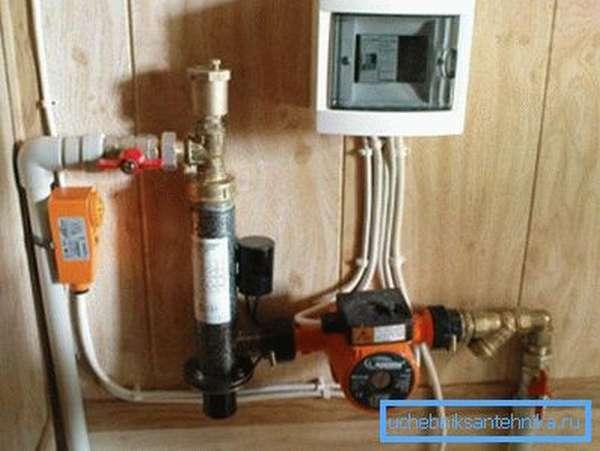 Для электрического электродного котла не нужен дымоход