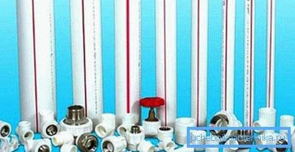 Для изготовления коммуникаций активно используются различные полимеры