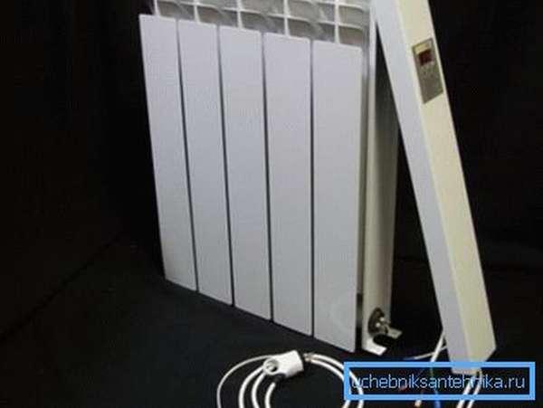 Для подключения масляного радиатора используется трехжильный кабель.