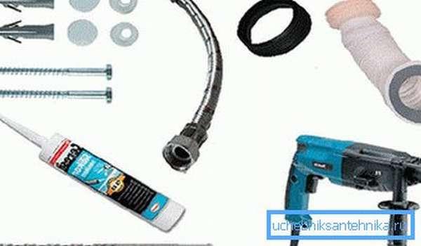 Для работ используют простой и доступный инструмент.