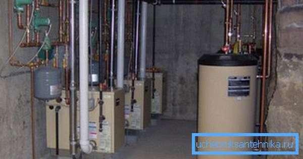 Для установки мощного отопительного оборудования должна быть спроектирована отдельная котельная