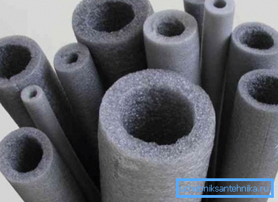 Для внутреннего монтажа используют изделия из вспененного полистирола