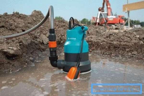Дренажный насос для чистой воды