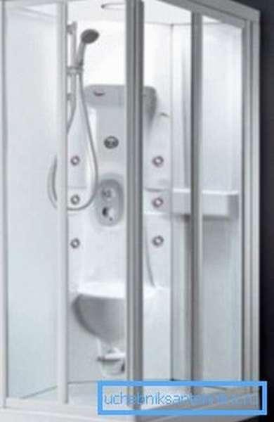 Душевая кабина 85 на 85–каждый сантиметр в конечном итоге имеет значение