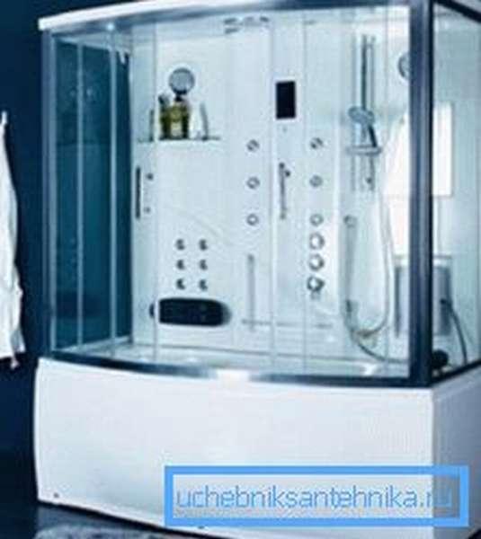 Душевая кабина с ванной 170х70 – практичное решение для ограниченных пространств