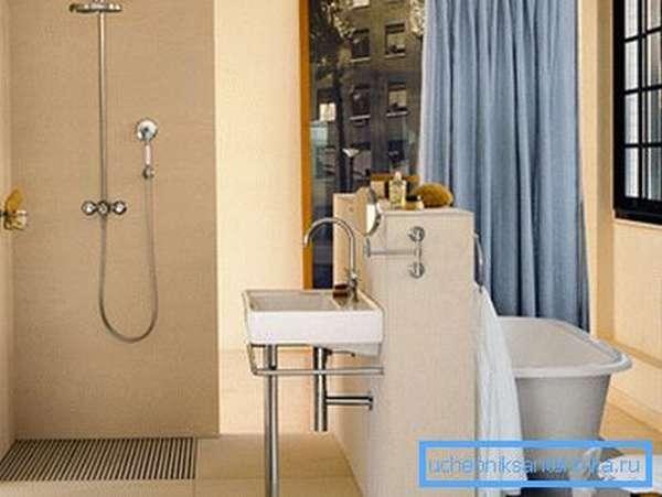 Душевые гарнитуры с верхним душем со смесителем и лейкой на гибком шланге – полноценное решение для вашего дома