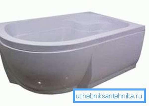Душевые кабины 1200х800 с высоким поддоном можно перепутать с небольшой ванной