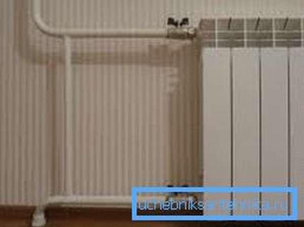 Два крана и перемычка позволят изолировать радиатор без последствий для всей системы