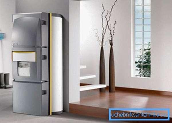 Двухконтурные модели позволяют не только отапливать, но и снабжать дом горячей водой.