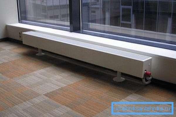 Эффективность теплоотдачи зависит от материала корпуса.