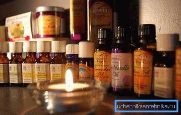 Эфирные масла для добавления в ванну