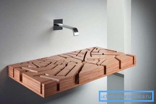 Эксклюзивная деревянная модель