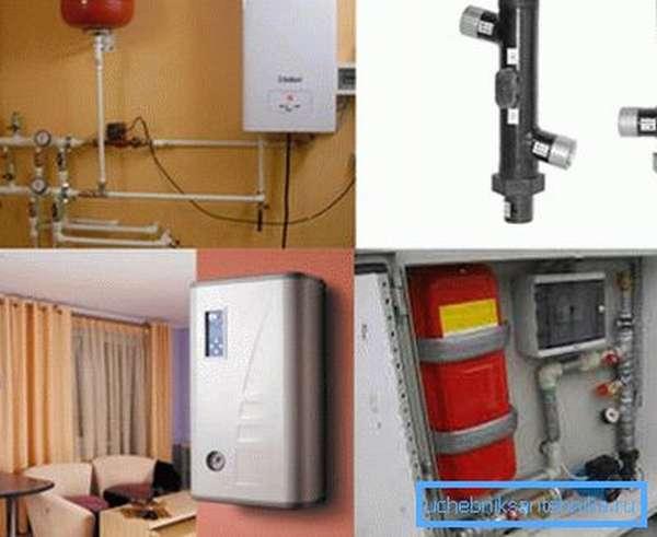 Электрические котлы для отопления дачи разных типов